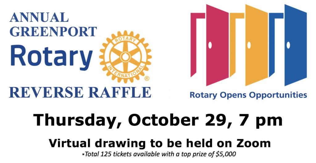 Greenport Rotary Reverse Raffle